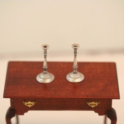 ESTATE: Sheffield Candlestick Pair by Acquisto