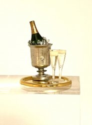 Champagne Tray - Gold