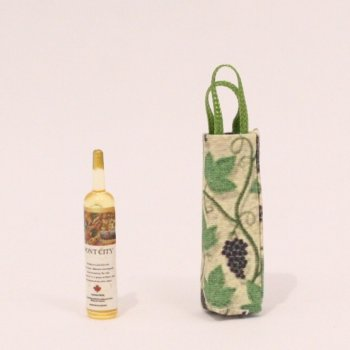 Wine tote with Wine bottle