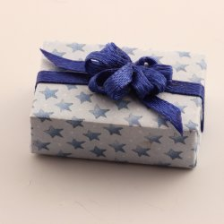 Present - Blue Bow
