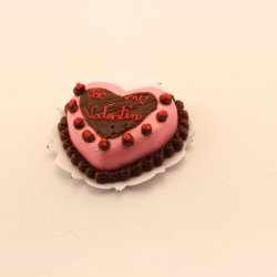 Heart Cake in Pink by Bright Delights