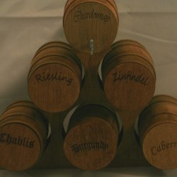 Wine Barrel Stack