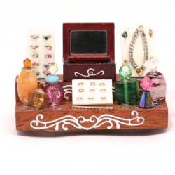 Jewelry and Perfume bottle tabletop display