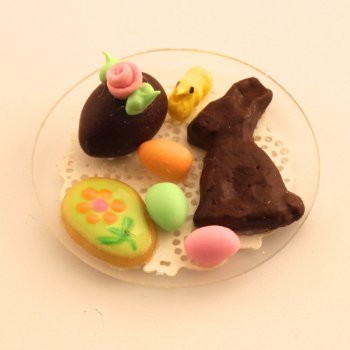 Cookie & Rabbit Plate - Green Cookie
