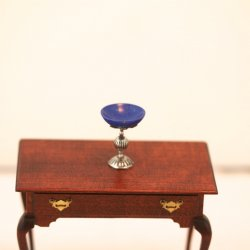 ESTATE: Lapis Chalice Cup by Eugene Kupjack