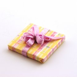 Present - Yellow Plaid small